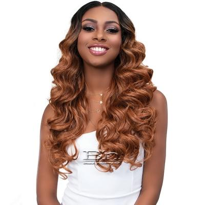 Janet Collection Synthetic Melt Extended Deep  HD Part Lace Wig - JADA