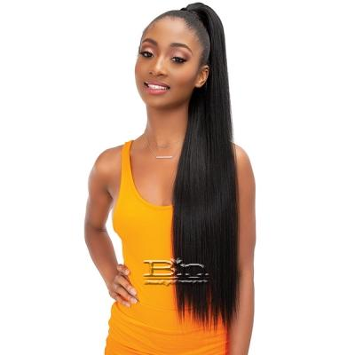 Janet Collection Essentials Snatch N Wrap Synthetic Ponytail - STRAIGHT 32