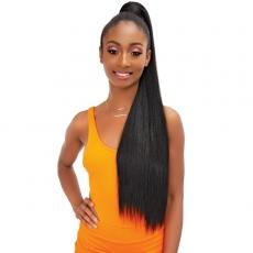 Janet Collection Essentials Snatch N Wrap Synthetic Ponytail - YAKY STRAIGHT 24