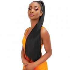 Janet Collection Essentials Snatch N Wrap Ponytail - YAKY STRAIGHT 32