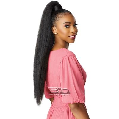 Sensationnel Synthetic Ponytail Instant Pony Wrap - KINKY STRAIGHT 30