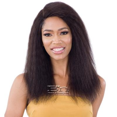 Naked 100% Brazilian Natural Human Hair Lace Front Wig - RIHANNI