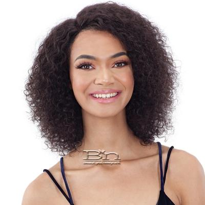 Mayde Beauty Lace and Lace 100% Human Hair Lace Front Wig - ATLANTIS CURL