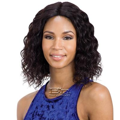 Mayde Beauty Lace and Lace 100% Human Hair Lace Front Wig - DEEP BOUNCE