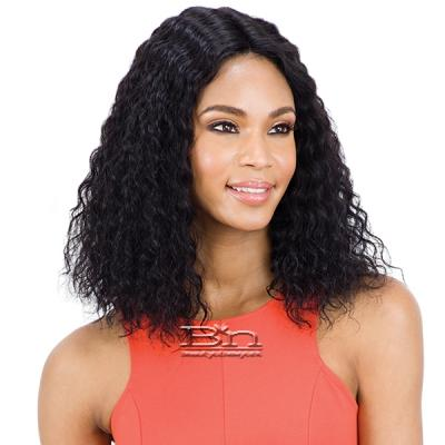 Mayde Beauty Lace and Lace 100% Human Hair Lace Front Wig - SUPER WET & WAVY(LONG)