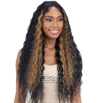 Mayde Beauty Synthetic Hair Axis Lace Front Wig - SLEEK CRIMP