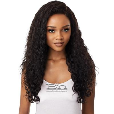 Outre Mytresses Platinum Label 100% Virgin Human Hair HD Full Lace Wig - NATURAL BOHO DEEP