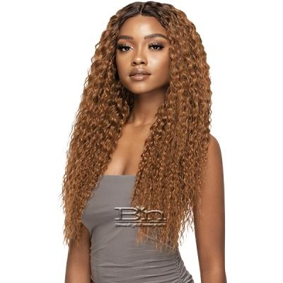 Outre Purple Pack Brazilian Bundle Human Hair Blend Wet &Wavy Style Weaving - SUPER CURL (18/20/22)