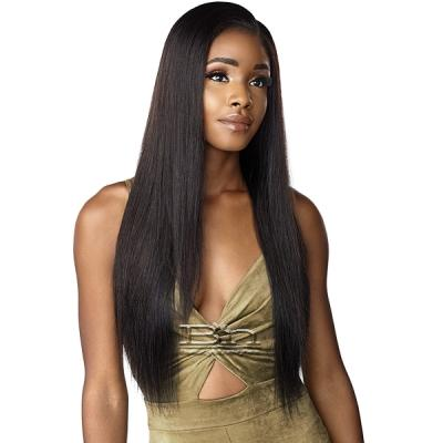 Sensationnel 100% Virgin Human Hair 12A Lace Wig - NATURAL STRAIGHT 28