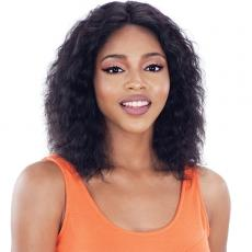 Model Model Nude Fresh Wet & Wavy 100% Brazilian Natural Human Hair Lace Front Wig - PACIFIC WAVE