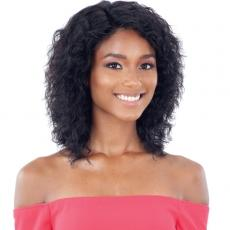 Naked 100% Brazilian WET & WAVY Natural Hair Lace Front Wig - CRYSTAL WAVE