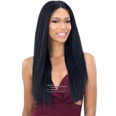 Organique Synthetic Hair 5 Inch Lace Front Wig LIGHT YAKY STRAIGHT 24