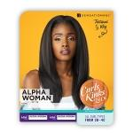 Sensationnel Curls Kinks & Co Synthetic Half Wig Instant Weave - ALPHA WOMAN