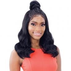Mayde Beauty Synthetic Hair Pre-Braided Lace Frontal Wig - PRITI