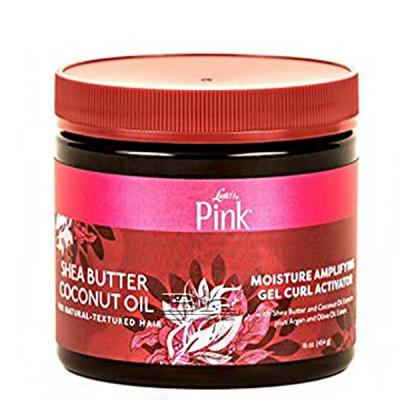 Luster's Pink Shea Butter Coconut Oil Moisture Amplifying Gel Curl Activator 16oz