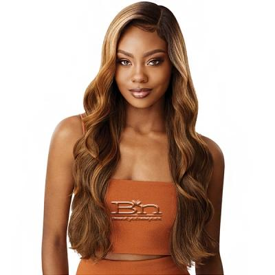 Outre Color Bomb Synthetic Swiss Lace Front Wig - KIMANI
