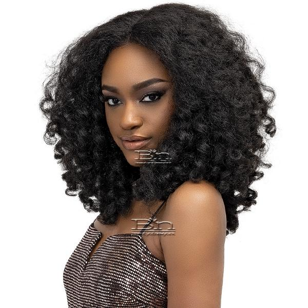 Janet Collection Natural Me Synthetic Hair Lace Wig - ZARA
