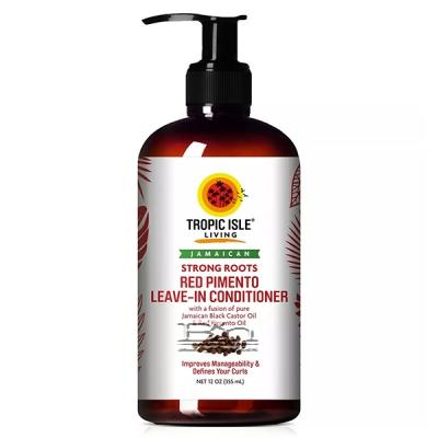 Tropic Isle Living Jamaican Strong Roots Red Pimento Leave-In Conditioner 12oz