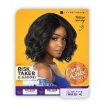 Sensationnel Curls Kinks & Co Synthetic Hair Empress Lace Front Wig - RISK TAKER