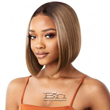 Outre Color Bomb Synthetic Swiss Lace Front Wig - BONA