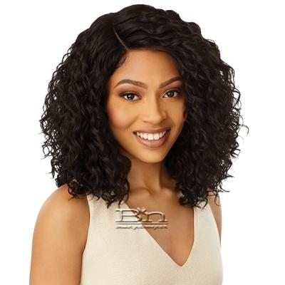 Outre Synthetic L-Part Swiss HD Lace Front Wig - SHIREEN