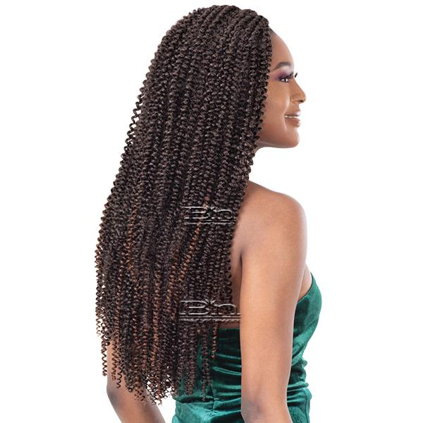 Freetress Synthetic Braid - SPARKLING CURL 18