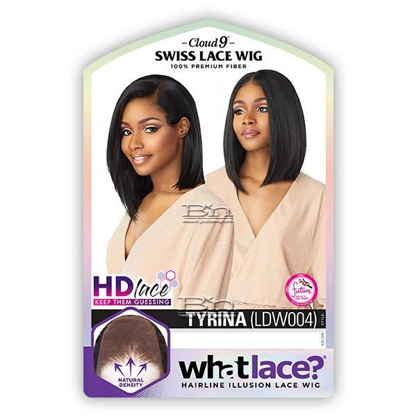 Sensationnel Synthetic Cloud 9 Swiss Lace What Lace 13x6 Frontal HD Lace Wig - TYRINA