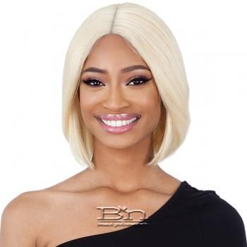 Naked 100% Brazilian Natural Human Hair Lace Front Wig - BCL 01