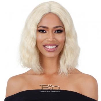 Naked 100% Brazilian Natural Human Hair Lace Front Wig - BCL 02