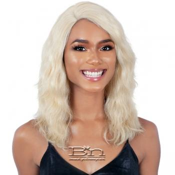 Naked 100% Brazilian Natural Human Hair Lace Front Wig - BCL 03
