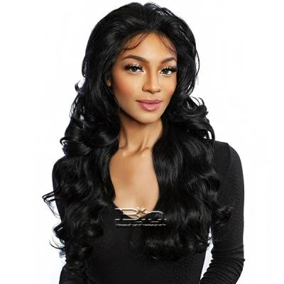 Mane Concept Red Carpet Synthetic Hair HD Natural Hairline Lace Wig - RCHN201 ROANE