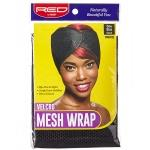 Red by Kiss Velcro Mesh Wrap One Size Black #HWR02