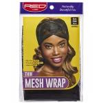 Red by Kiss Thin Mesh Wrap One Size Black #HWR03