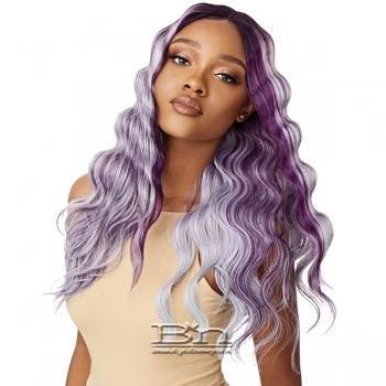 Outre Color Bomb Synthetic Swiss Lace Front Wig - TAWNY
