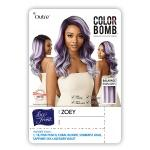 Outre Color Bomb Synthetic Swiss Lace Front Wig - ZOEY