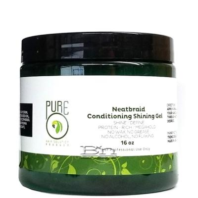 Pure O Neatbraid Conditioning Shining Gel 16oz