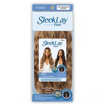Outre Synthetic Sleeklay Part HD Lace Front Wig - IDINA