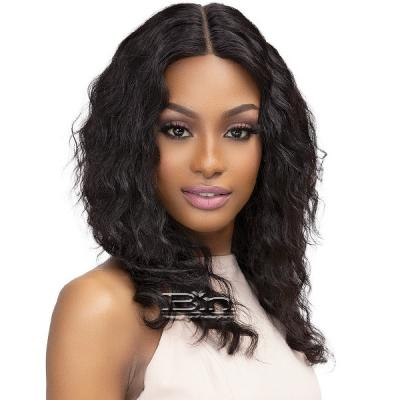 Janet Collection Luscious Wet & Wavy 100% Natural Virgin Remy Indian Hair Lace Wig - TEYANA