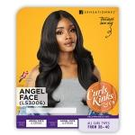 Sensationnel Curls Kinks & Co Synthetic Hair Empress Lace Front Wig - ANGEL FACE