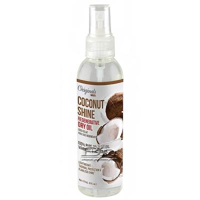 Africa's Best Originals Coconut Shine Regenerative Dry Oil 6oz