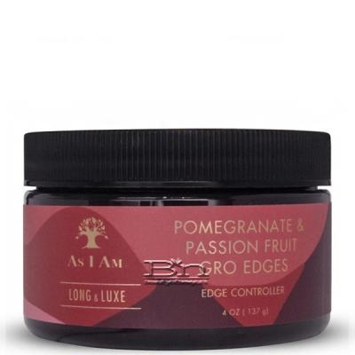 As I Am Long and Luxe Pomegranate & Passion Fruit Gro Edges 4oz