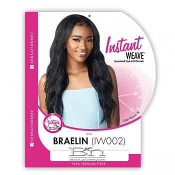 Sensationnel Synthetic Half Wig Instant Weave - BRAELIN
