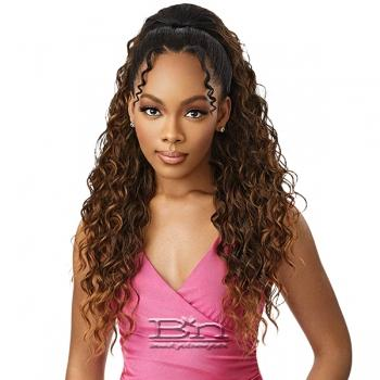 Outre Synthetic Wet & Wavy Style Pretty Quick Pony - BEACH WAVE 28