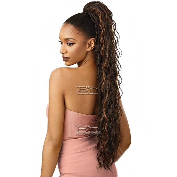 Outre Synthetic Wet & Wavy Style Pretty Quick Pony - LOOSE DEEP 34