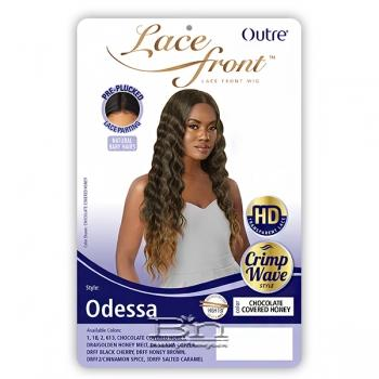 Outre Synthetic Swiss HD Lace Front Wig - ODESSA