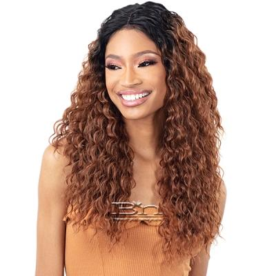 Freetress Equal Lace & Lace Synthetic Hair Lace Front Wig - CRUSH (L)