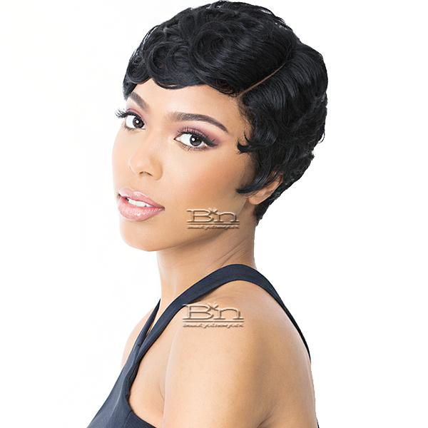 It's a wig Synthetic Wig - PIN CURL 202