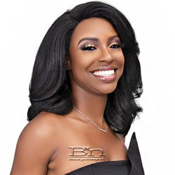 Janet Collection Natural Me Blowout Synthetic Hair HD Lace Wig - DEEDRA