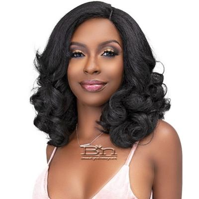 Janet Collection Natural Me Blowout Synthetic Hair HD Lace Wig - SIERRA