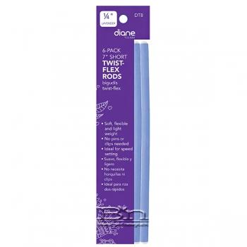 "Diane #DT8 Twist Flex Rods - 1/4"" Lavender"